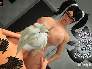 3 Dimensional Animation Futa Lovemaking With Very Hot Lesbos