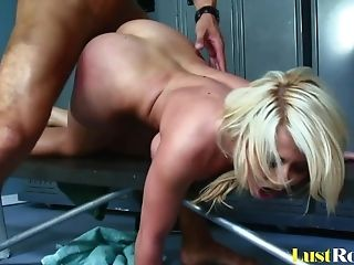 Incredible Locker-room Bonking With Huge-titted Madison Ivy