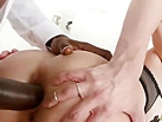 Jizm Thirsty Paulina Soul Does Interracial Four Big Black Cock Gang-fuck!