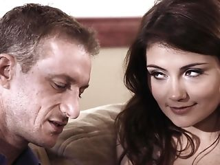 Flirty Beauty Adria Rae Loves Cuni And Railing Fuck-stick On Top