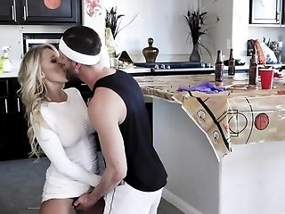 Desperate Housewife Gets Banged Behind Hubby's Back