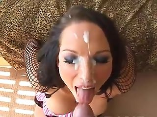 Nikki Hunter Loves When Her Paramour Cums All Over Her Pretty Face