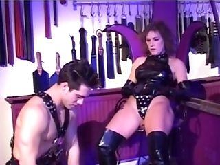 Hot Fem Dom Pornography Flick From 90s