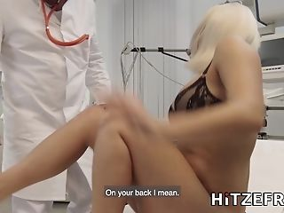 Hitzefrei Lilli Vanilli Fucked By Her Doctors Big Fuckpole