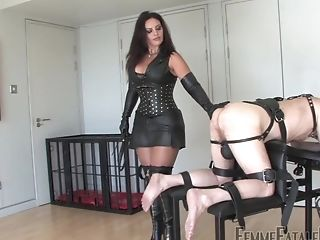 Mistress Ezada Loves To Savagely Degrade And Torment Her Sub