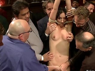 Stunning Stunner Fuck-fest Orgy Screwed In Public