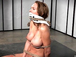 Gagging And Bagging A Pretty Dame With Gorgeous Big Tits