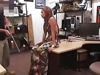 Crazy Bitch Slum Sucked Beef Whistle And Gets Laid In The Pawnshop