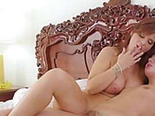 Cougar Kneading Teenagers Bean And Getting Oral
